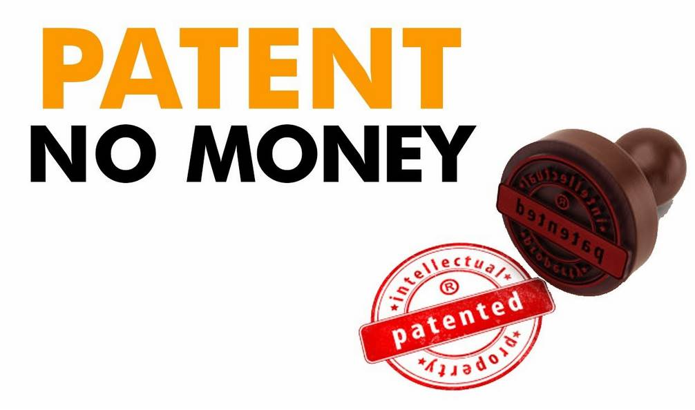 How to get a patent without money