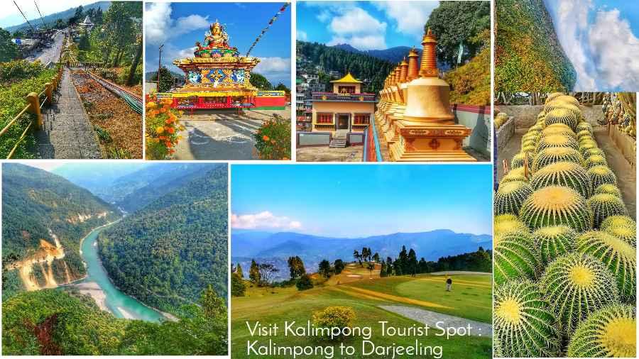 Visit Kalimpong Tourist Spot Kalimpong to Darjeeling