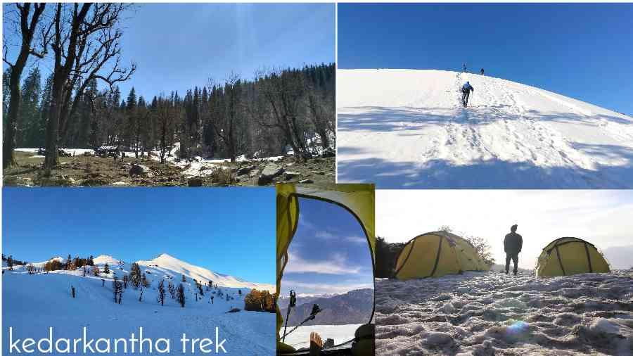 Kedarkantha Trekking Route Cost Packages