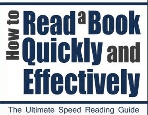 read a book effectively